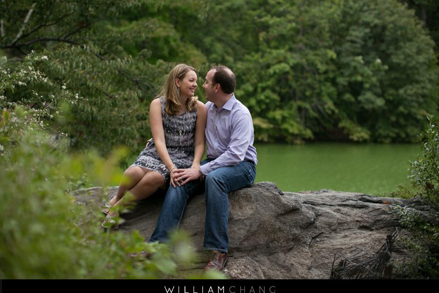 Central Park Surprise Proposal Engagement Photos | Brandon + Whitney