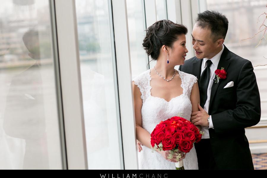 Water's Edge LIC Wedding Photos | Elizabeth + Peter