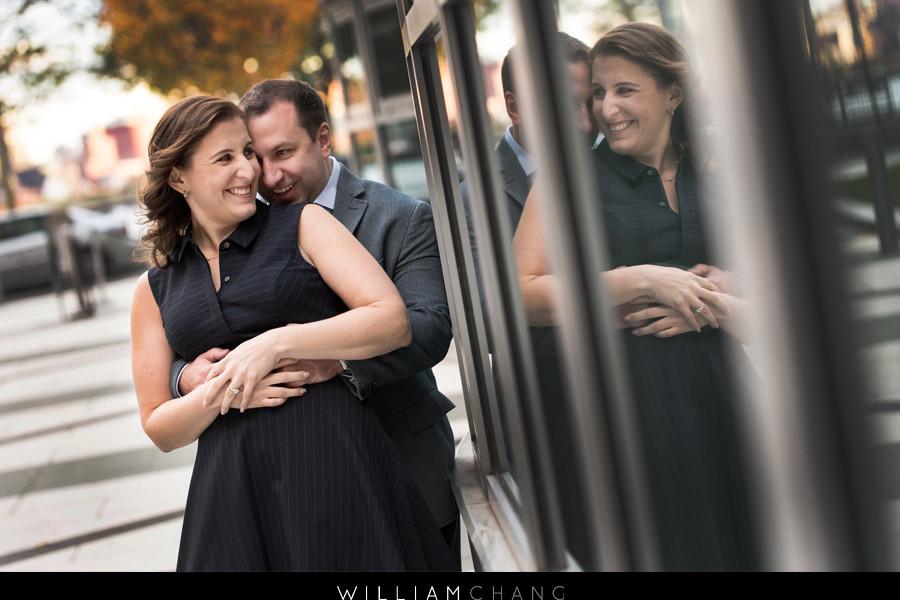 Hoboken Engagement Photos   Sandra + Hank
