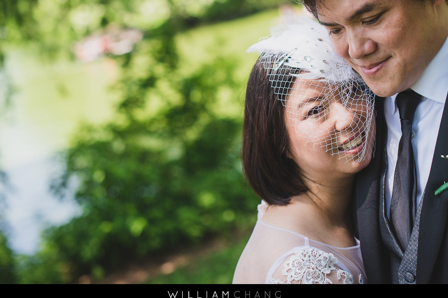 City Hall and Central Park wedding photos | Janette + Tony