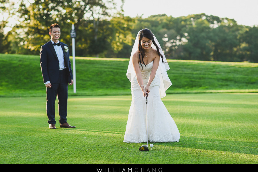Carlyle On The Green wedding photos | Linda + David