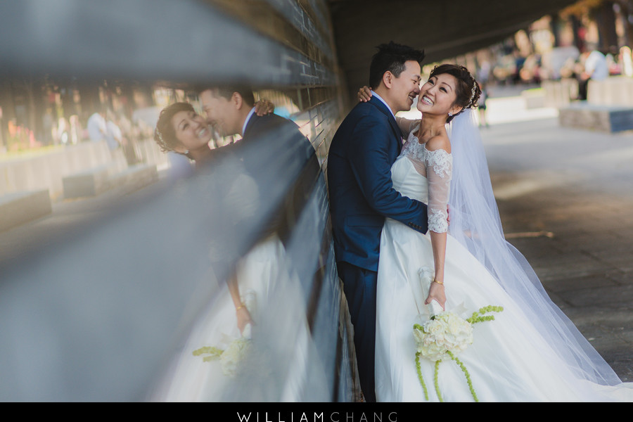 Hornblower Cruise Wedding Photos | Yuka + Shin