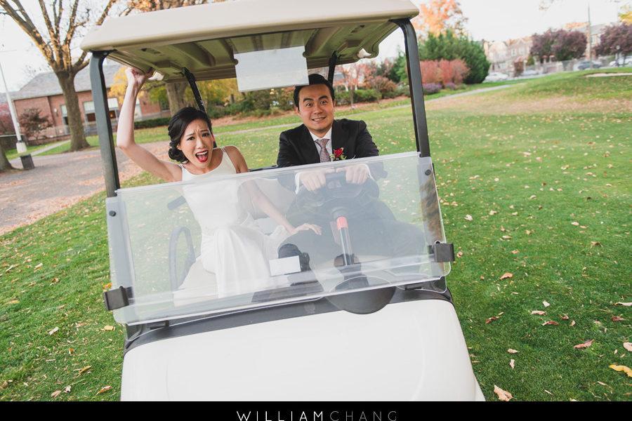 Dyker Beach Golf Course wedding Photos | Yuen + Larry